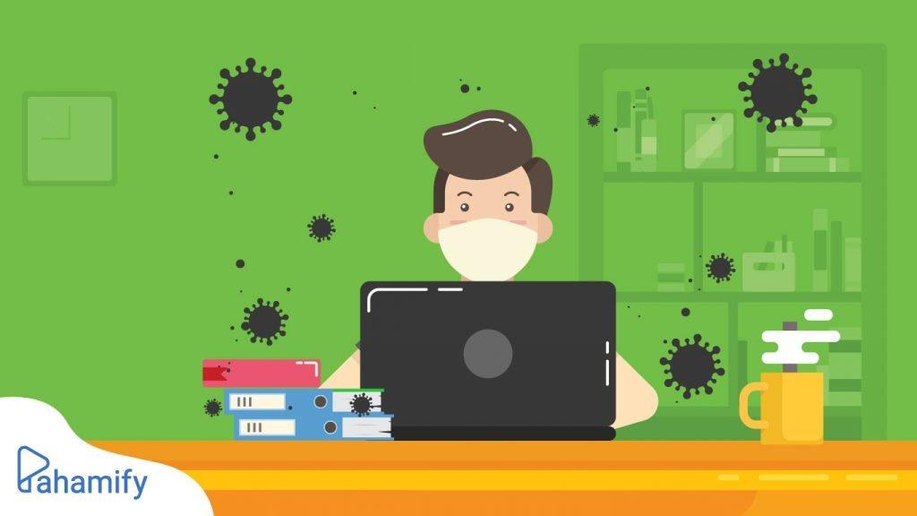 Cara penularan influenza dan masa inkubasinya. Agar lebih aman, belajar online di rumah saja selama PPKM Jawa Bali.