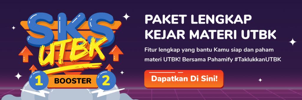 Darurat UTBK! Kebut persiapan belajar UTBK lewat Paket SKS UTBK Booster Pahamify!