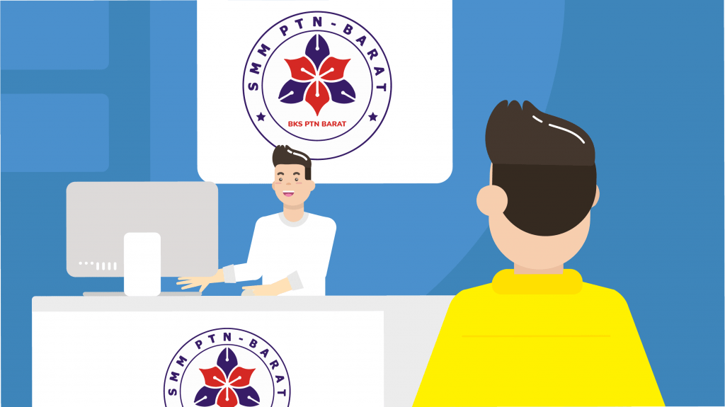 Cara pendaftaran Seleksi Mandiri PTN wilayah Barat Indonesia (SMMPTN Barat 2021)