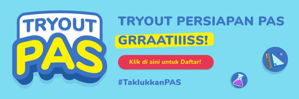 Try Out Online Penilaian Akhir Semester Genap (PAS) SMA 2021 Gratis. Daftar Sekarang!