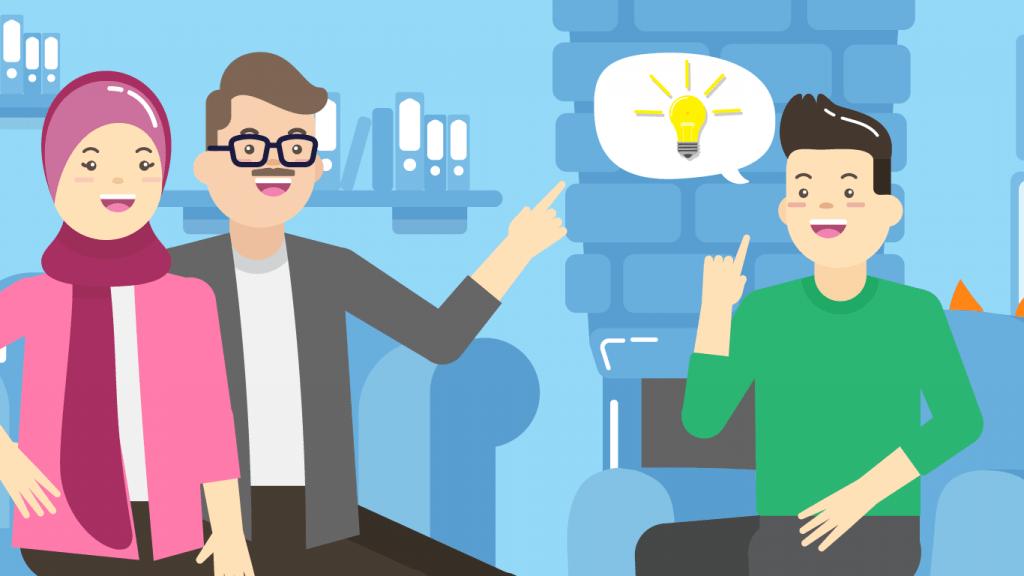 Bagaimana cara membangun support system positif untuk menunjang prestasi belajar siswa?